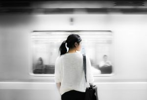women catcalling public transportation sexual harassment