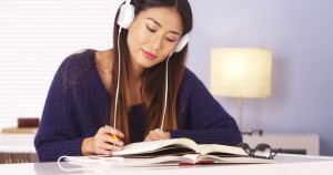 music help to focus better or simply distracting us from work